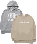 퍼블릭아이콘(PUBLIC ICON) [세트상품] Air Force Hood + About You Sweatshirt