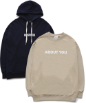 퍼블릭아이콘(PUBLIC ICON) [세트상품] Standard Hood + About You Sweatshirt