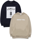 퍼블릭아이콘(PUBLIC ICON) [세트상품] Number 8 Sweatshirt + About You Sweatshirt