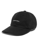 LIFUL(liful) W-LABEL LOGO 6PANEL CAP black