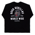 굿펠라즈(GOODFELLAS) Gorilla Crewneck Black
