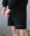 리플레이컨테이너(replaycontainer) rc sweat shorts  (black)