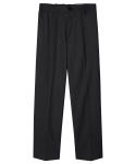 모디파이드(MODIFIED) M#1260 banding crop slacks (black)