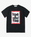 해브 어 굿 타임(HAVE A GOOD TIME) Fat Frame S/S T-Shirt - Black