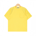누이슈(NUISSUE) STICH POCKET TEE (LEMON)