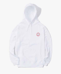 해브 어 굿 타임(HAVE A GOOD TIME) Dart Pullover Hoodie - White