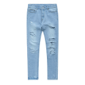 비바스튜디오(vivastudio) DAMAGED DENIM [LIGHT BLUE]