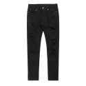 비바스튜디오(vivastudio) DAMAGED DENIM [BLACK]