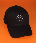 아비아(ABIA) KISS CAP(BLACK)