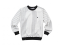 루스리스(RUTHLESS) PIN STRIPE CREW NECK / CR
