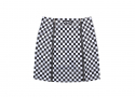 루스리스(RUTHLESS) ZIP FRONT SKIRT / CHECKER