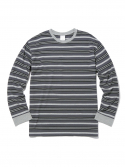 디스이즈네버댓() Multi Striped L/S Grey/Black