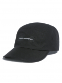 디스이즈네버댓() T-Logo Camp Cap Black