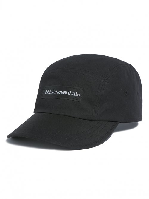 디스이즈네버댓(THISISNEVERTHAT) T-Logo Camp Cap Black