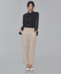 살롱드서울(SALON DE SEOUL) WOMAN GURKHA PANTS (BEIGE)
