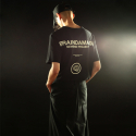 브레인데미지(BRAINDAMAGE) SHORT-SLEEVED LOGO T-SHIRT BLACK