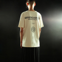 브레인데미지(BRAINDAMAGE) SHORT-SLEEVED LOGO T-SHIRT OFFWHITE
