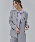 살롱드서울(SALON DE SEOUL) WOMAN UNBALANCE JACKET (GREY)