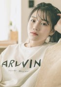아빈(ARVVIN) logo loose t-shirt (white)