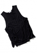 아빈(ARVVIN) sea-side jerjey sleeveless (black)