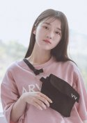아빈(ARVVIN) strap ring side bag (black)