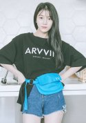 아빈(ARVVIN) strap ring side bag (blue)