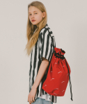 위캔더스(WKNDRS) WAVY SWIMMER BAG (RED)