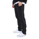 페이드6() LINE SWEAT PANTS BLACK