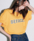 디폴트(DEFAULT) DEFAULT TEE(Yellow)