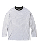 인사일런스(INSILENCE) Stripe Long Sleeves (White)
