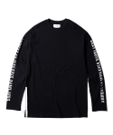인사일런스(INSILENCE) Side Zip Long Sleeves (Black)