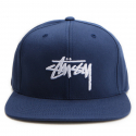 스투시() [스투시] STUSSY STOCK SP17 CAP (NAVY) [131697-NAVY]