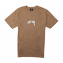 스투시() [스투시] STUSSY STOCK TEE (LIGHT BROWN) [1904026-LBRW]