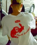 세카이(SEKAI) RED CHIMP TEE_WHITE