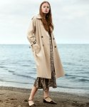 에번라포레() Double Button Trench Coat(Beige)