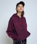 더완더(THEWANDER) GIRLHOOD HOODIE PURPLE