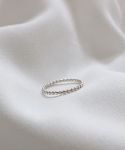 르미닛(LE MINUIT) [92.5 SILVER] DOT RING