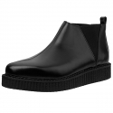 티유케이(T.U.K) [T.U.K] A9177 Black Chelsea Pointed Creeper Boot