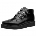 [T.U.K] A9114 Buckle Studs Pointed BOOT