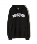 PARADISE YOUTH CLUB /  MIND BENDER HOODIE / BLACK