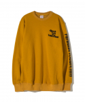파라다이스 유스 클럽(PARADISE YOUTH CLUB) PARADISE YOUTH CLUB / UNKNOWN CREW NECK / YELLOW