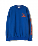 PARADISE YOUTH CLUB / UNKNOWN CREW NECK / NAVY