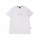 캉골() Block Short Sleeves T 2551 White