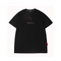 캉골() Block Short Sleeves T 2551 Black