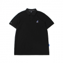 Basic Club Polo Shirts 1708 Black