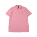캉골(KANGOL) Basic Club Polo Shirts 1708 Pink