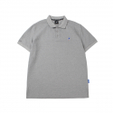 캉골(KANGOL) Basic Club Polo Shirts 1708 Grey