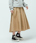 커버낫(COVERNAT) W EASY SKIRT BEIGE