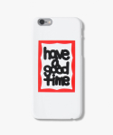 해브 어 굿 타임(HAVE A GOOD TIME) Fat Frame iPhone Case
