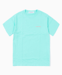 해브 어 굿 타임(HAVE A GOOD TIME) Side Logo S/S Tee - Aqua